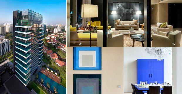 Interiores de apartamentos lujosos for Departamentos pequenos lujosos