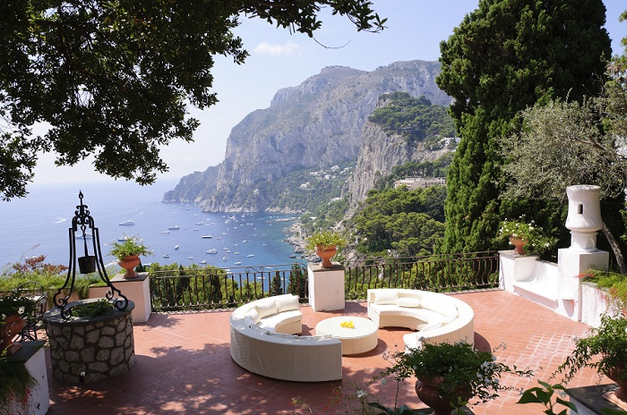 Capri, villas exclusivas con un toque muy Chic
