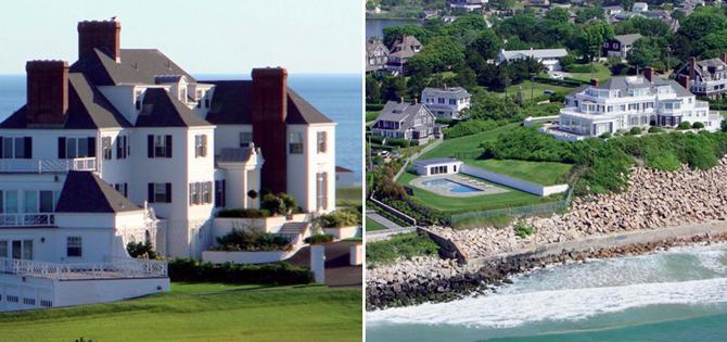 Mansiones de famosos de ensue o la casa de lujo de taylor for Casas de diseno de famosos