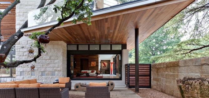 Uno de los dise os de casas verde la residencia caruth - Todo para la casa ...