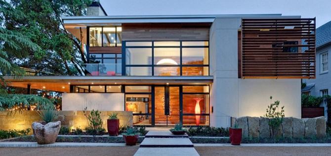 Uno de los dise os de casas verde la residencia caruth for Disenos de casas lujosas