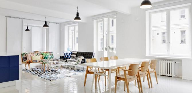 El estilo n rdico destaca entre los actuales interiores de for Casas estilo nordico