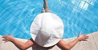 piscinas en casas de lujo
